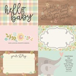 Horizontal Elements Paper - Oh, Baby! - Simple Stories - PRE ORDER