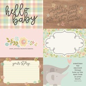 Horizontal Elements Paper - Oh, Baby! - Simple Stories