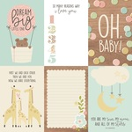 Vertical Elements Paper - Oh, Baby! - Simple Stories - PRE ORDER