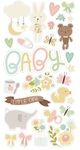 Oh, Baby! Chipboard Stickers - PRE ORDER