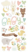 Oh, Baby! Chipboard Stickers