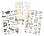 Oh, Baby! Clear Stickers - Simple Stories