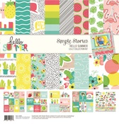 Collection Kit - Hello Summer - Simple Stories