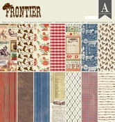 Frontier 12 x 12 Paper Pad - Authentique