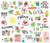 Hello Summer Bits & Pieces - Simple Stories