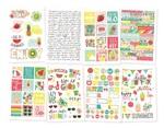 Hello Summer Sticker Sheet - Simple Stories - PRE ORDER