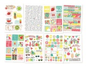 Hello Summer Sticker Sheet - Simple Stories