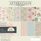 Stitches 6 x 6 Paper Pad - Authentique