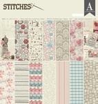 Stitches 12 x 12 Paper Pad - Authentique
