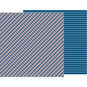 Stars & Stripes Forever Paper - Land That I Love - Pebbles