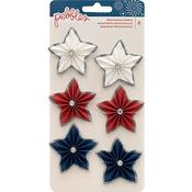 Star Rosettes Stickers - Land That I Love - Pebbles
