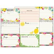 Recipe Cards Paper - Patio Party - Pebbles