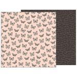 Flutterflies Paper - Patio Party - Pebbles