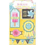Layered Chipboard Stickers - Summer Mood - Bo Bunny