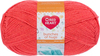 Shrimp - Red Heart Bunches Of Hugs Yarn A large value size ball, Oeko-Tex certified yarn in a medium weight. Great for baby, toddler and kids projects. Weight category: 4. Content: 100% acrylic. Putup: 14oz/397g, 948yd/868m (solid), 10oz/284g, 678yd/620m (striped). Gauge: 12sx14r = 4in/10cm on size US8/5mm knitting needles. Suggested crochet hook size: I-9/5.5mm. Dyelotted: we try but are not always able to match dyelots. Care: machine wash, machine dry, do not iron, do not bleach, dry clean using P solvents. Comes in a variety of colors. Each sold separately. Imported.