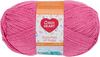 Lollipop - Red Heart Bunches Of Hugs Yarn A large value size ball, Oeko-Tex certified yarn in a medium weight. Great for baby, toddler and kids projects. Weight category: 4. Content: 100% acrylic. Putup: 14oz/397g, 948yd/868m (solid), 10oz/284g, 678yd/620m (striped). Gauge: 12sx14r = 4in/10cm on size US8/5mm knitting needles. Suggested crochet hook size: I-9/5.5mm. Dyelotted: we try but are not always able to match dyelots. Care: machine wash, machine dry, do not iron, do not bleach, dry clean using P solvents. Comes in a variety of colors. Each sold separately. Imported.
