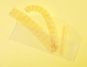 Clover Curve Ruler 3/Pkg