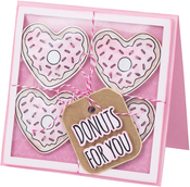 Donuts For You - Sizzix Framelits Die & Stamp Set By Jen Long