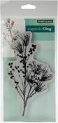 "Berry Speckled - Penny Black Cling Stamps 5""X7"""