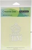 Adore Him - Penny Black Creative Dies