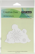 Snow Family Cut Out - Penny Black Creative Dies