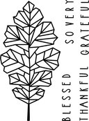 "Oak Leaf - Neat & Tangled Clear Stamps 3""X4"""