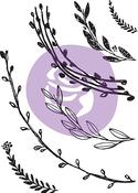 "Build A Wreath - Prima Marketing Decor Stamp 5""X7"""
