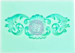 "Wind - Prima Marketing Art Decor Mould 2.5""X3.5"""