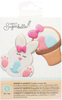 Bunny & Basket - Sweet Sugarbelle Cookie Cutter Kit 5pcs A great way to do your spring baking! This cutter set is a great way to prepare. This 4.5x6x2 inch package contains two cookie cutters, two templates and one instruction sheet. Dishwasher safe. Food safe. Imported.