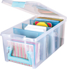 Aqua Handle, Latch & Dividers - ArtBin Super Semi Satchel