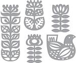 Nordic Floral - Spellbinders Shapeabilities Dies