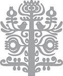 Nordic Tree - Spellbinders Shapeabilities Dies