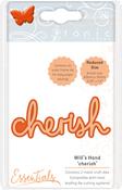 Cherish - Tonic Studios Essentials Miniature Moments Sentiment Die