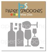 Wine - Paper Smooches Dies