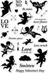 "Cherubs - Hero Arts Clear Stamps 4""X6"""