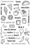 """We Go Together - Hero Arts Clear Stamps 4""""X6"""""""