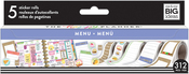 Food/Menu - Happy Planner Sticker Roll
