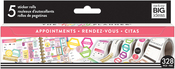 Appointments - Happy Planner Sticker Roll
