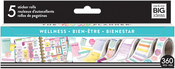 Wellness - Happy Planner Sticker Roll