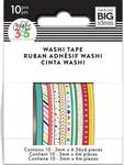 Brights - Happy Planner Mini Washi Tape 3mmx6.56yd Each 10/Pkg