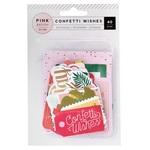 Confetti Wishes Ephemera - Pink Paislee