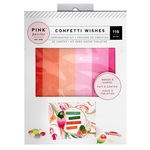 Confetti Wishes Card Making Kit - Pink Paislee