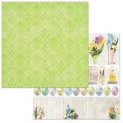 Festive Paper - Cottontail - Bo Bunny