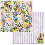Flowers Paper - Cottontail - Bo Bunny