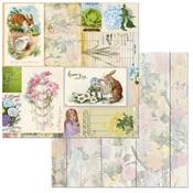 Hippity Hop Paper - Cottontail - Bo Bunny