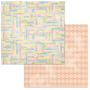 Pastels Paper - Cottontail - Bo Bunny
