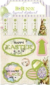 Cottontail Layered Chipboard - Bo Bunny