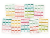 Mini Monthly Calendar Stickers - Simple Stories