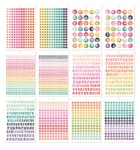 A5 Sticker Tablet - Numbers - Simple Stories - PRE ORDER