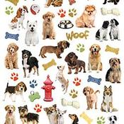 Dog - Paper House Life Organized Micro Stickers